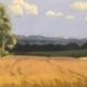 Landschaftsbild des Künstlers Leopold Schmidt