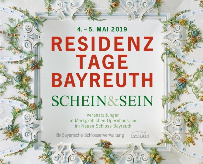 """Plakat """"Schein & Sein"""""""