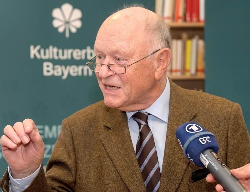 Johann Böhm, Vorsitzender des Bayerischen Landesvereins für Heimatpflege