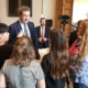 Ministerpräsident Dr. Markus Söder stellte sich den Fragen der Mainburger Schüler
