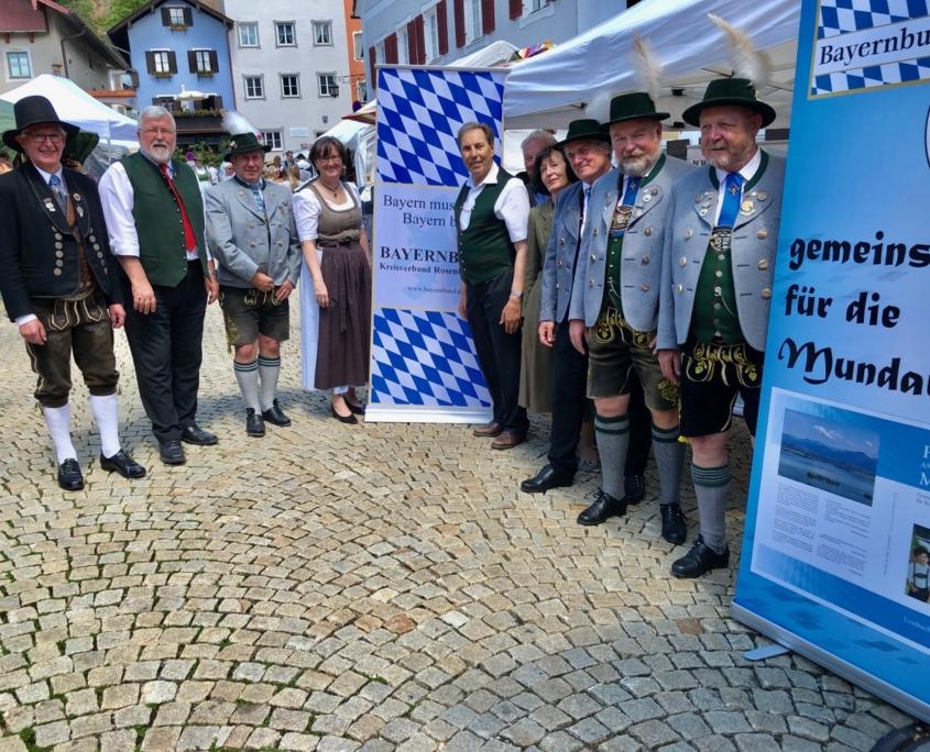 Mitglieder des Bayernbund Kreisverbandes Rosenheim
