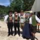 Mitglieder des Bayernbund-Kreisverbandes Traunstein mit Rupodldinger Trachtlern