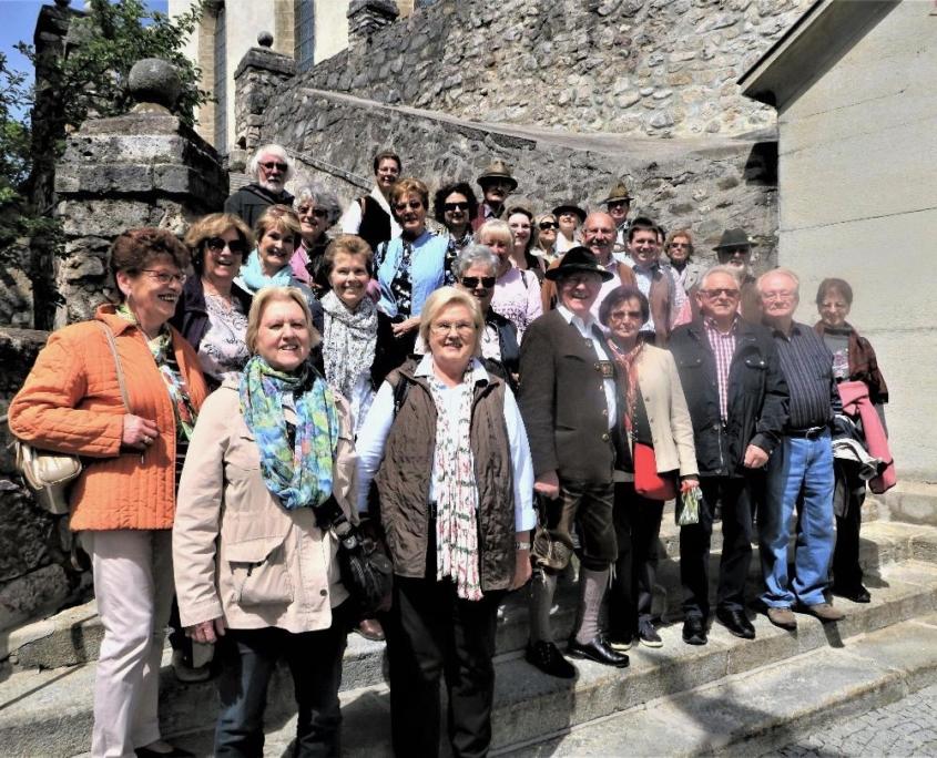 Mitglieder des Bayernbund Kreisverbandes Oberland