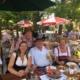 Vorsitzender des Bayernbund Kreisverbandes Traunstein, Dr. Franz Heigenhauser sowie Verbands-Mitglieder und Sympathisanten